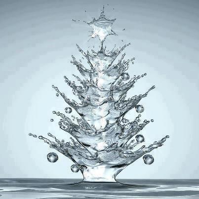 A festive splash