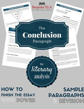 what parts make up the concluding paragraph