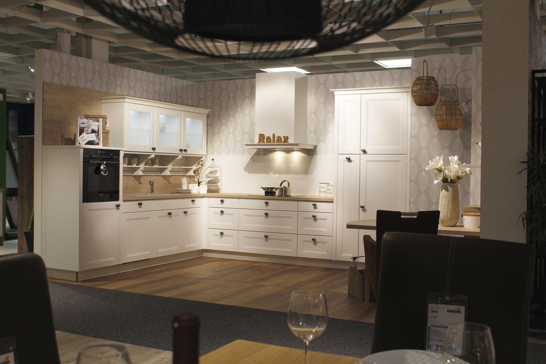 Küche Weiß Landhaus Modern