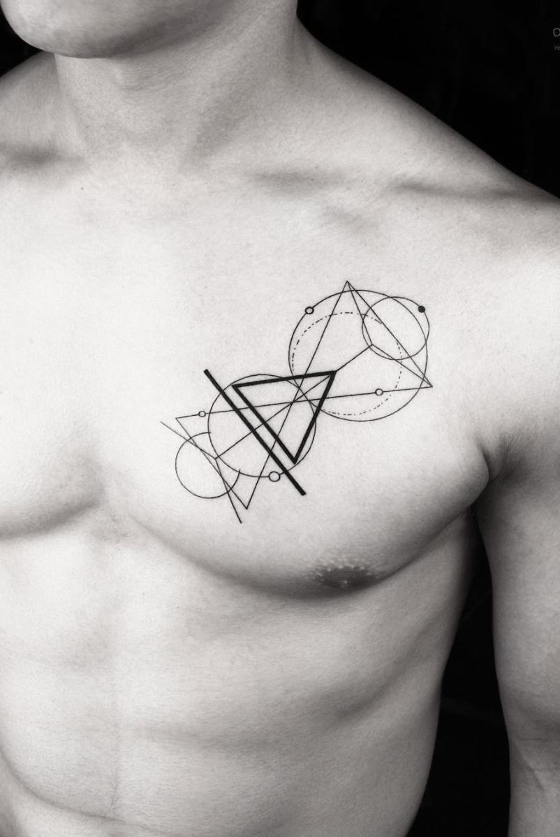 5 Unique Tattoo Ideas For Design And Architecture Lovers Minimalist Tattoo Unique Tattoos Geometric Tattoo
