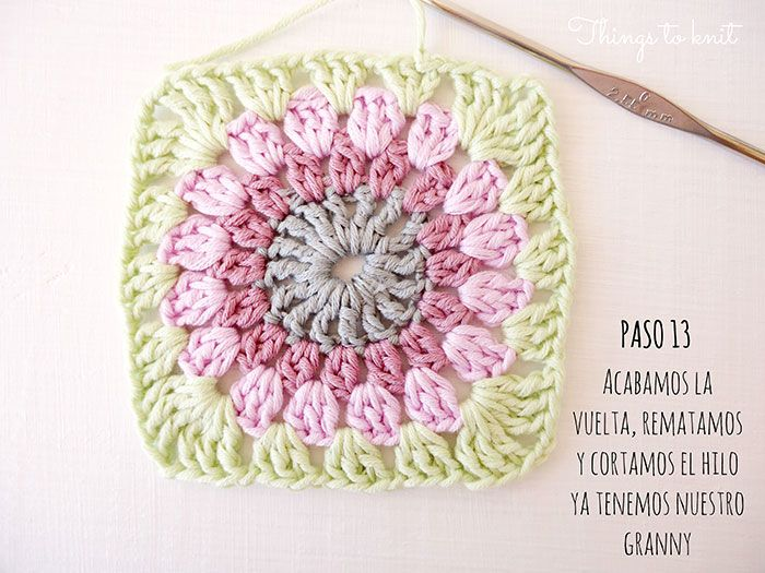 crochet / Picture Tutorial: Granny Squares
