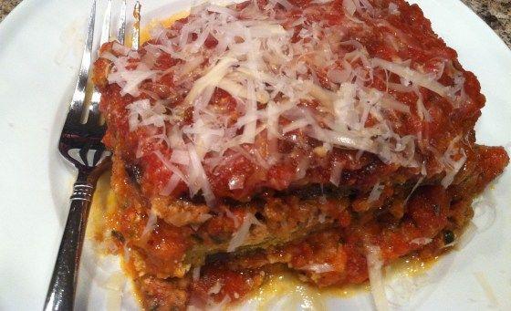 Eggplant Parm Lasagna