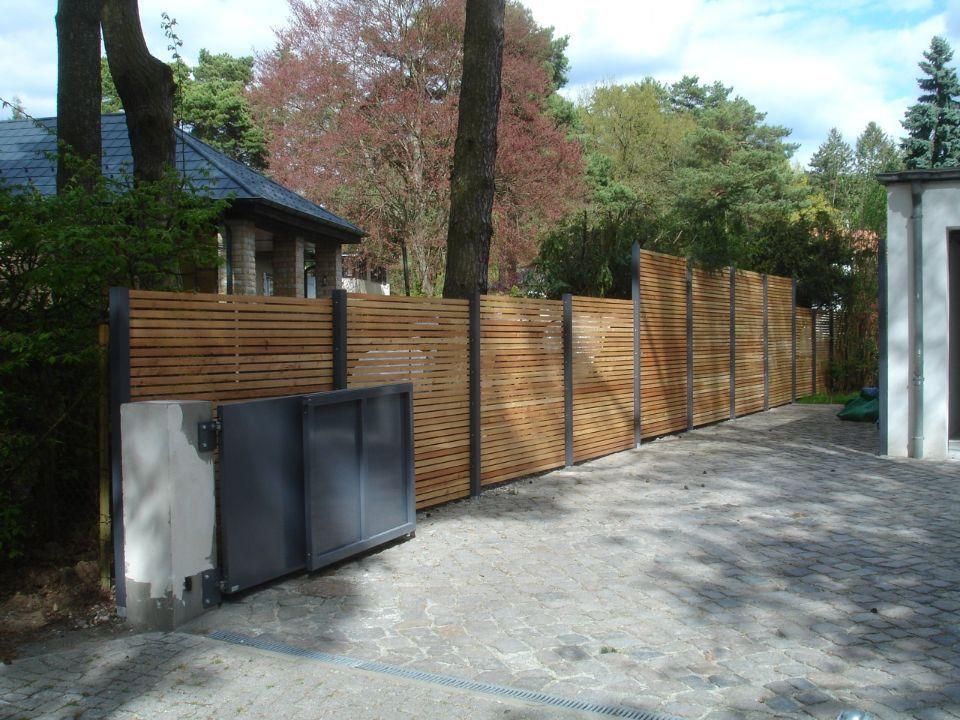 Design Sichtschutz Stahl Holz Garden Pinterest Carport Patio