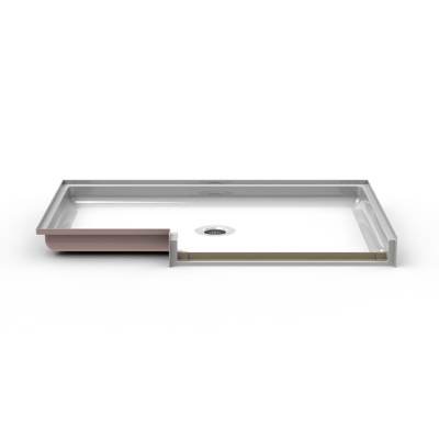 Code Compliant 64 X 42 Shower Pan Traditional Threshold 3 4