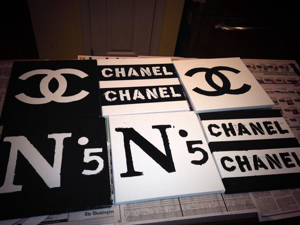 95cb719b113a DIY Chanel room decor