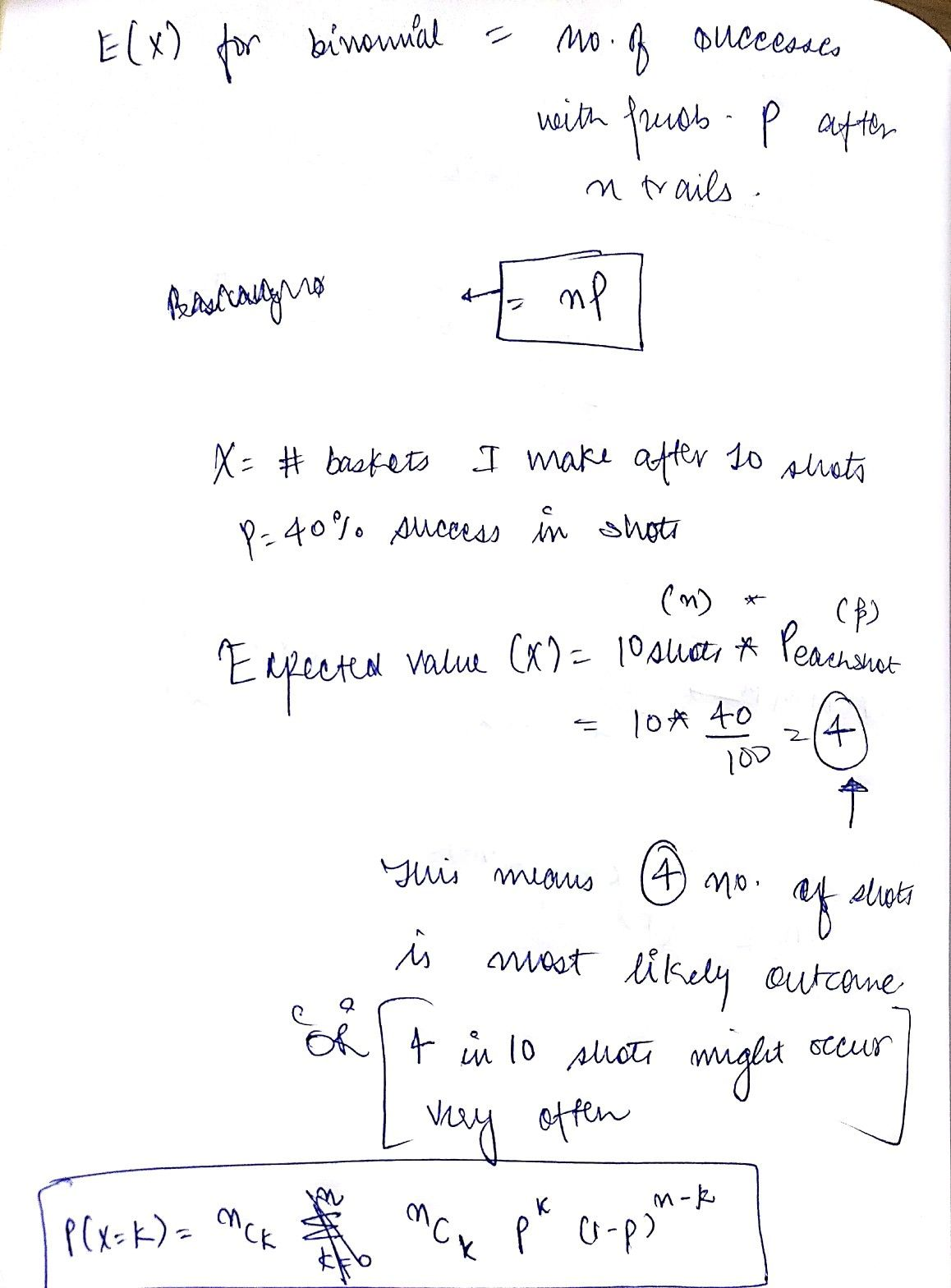 Expected Value Worksheet