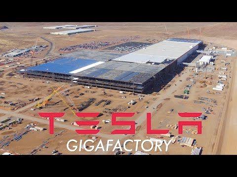 A Glimpse Of The Future See The Tesla Gigafactory Like Never Before 10nov2016 Tesla Nevada New Tesla