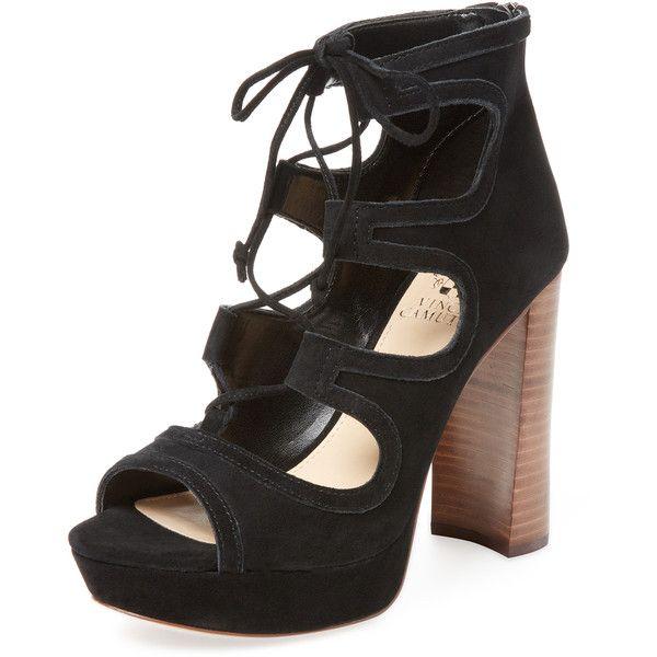 7a3ac29af808 Vince Camuto Women s Kamaye Suede Platform Sandal - Black