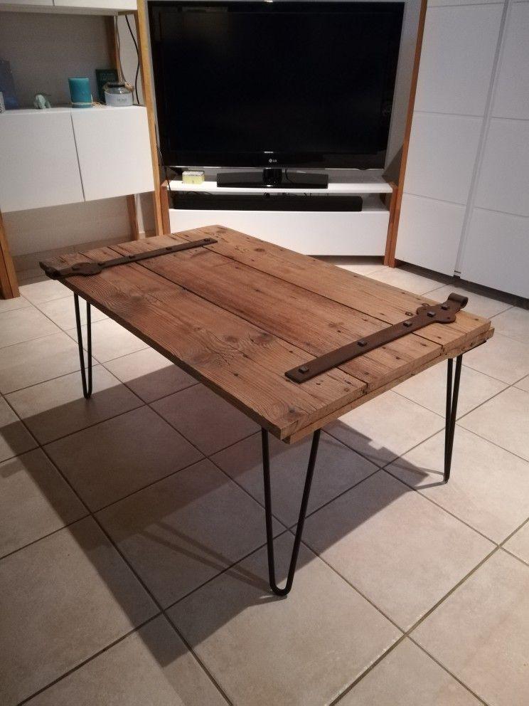 Table Basse Volet Table Basse Idee Deco Bricolage Idee Deco Maison