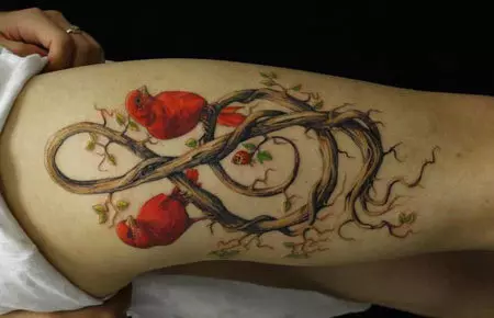 Photo of 15 Excellent Musical Tattoo Designs