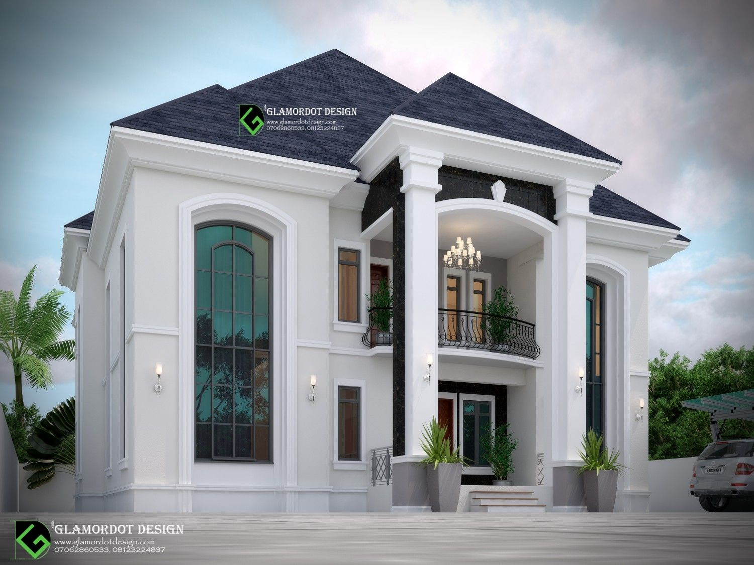Architectural Design Of A Proposed 5 Bedroom Duplex Benin Nigeria For Inquiries Duplex House Design Classic House Exterior Metal Building House Plans