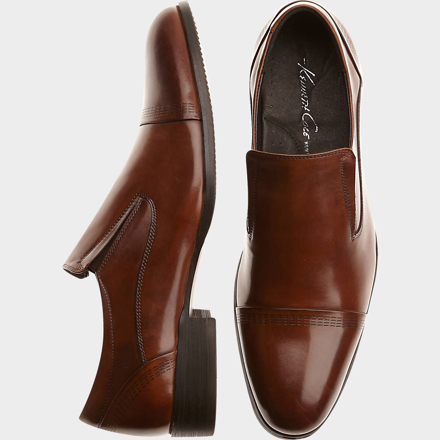 Buy a Kenneth Cole Knight Watch Brown Leather Loafers and other Dress Shoes  at Men's Wearhouse. Browse the latest styles, brands and selection in men's  ...