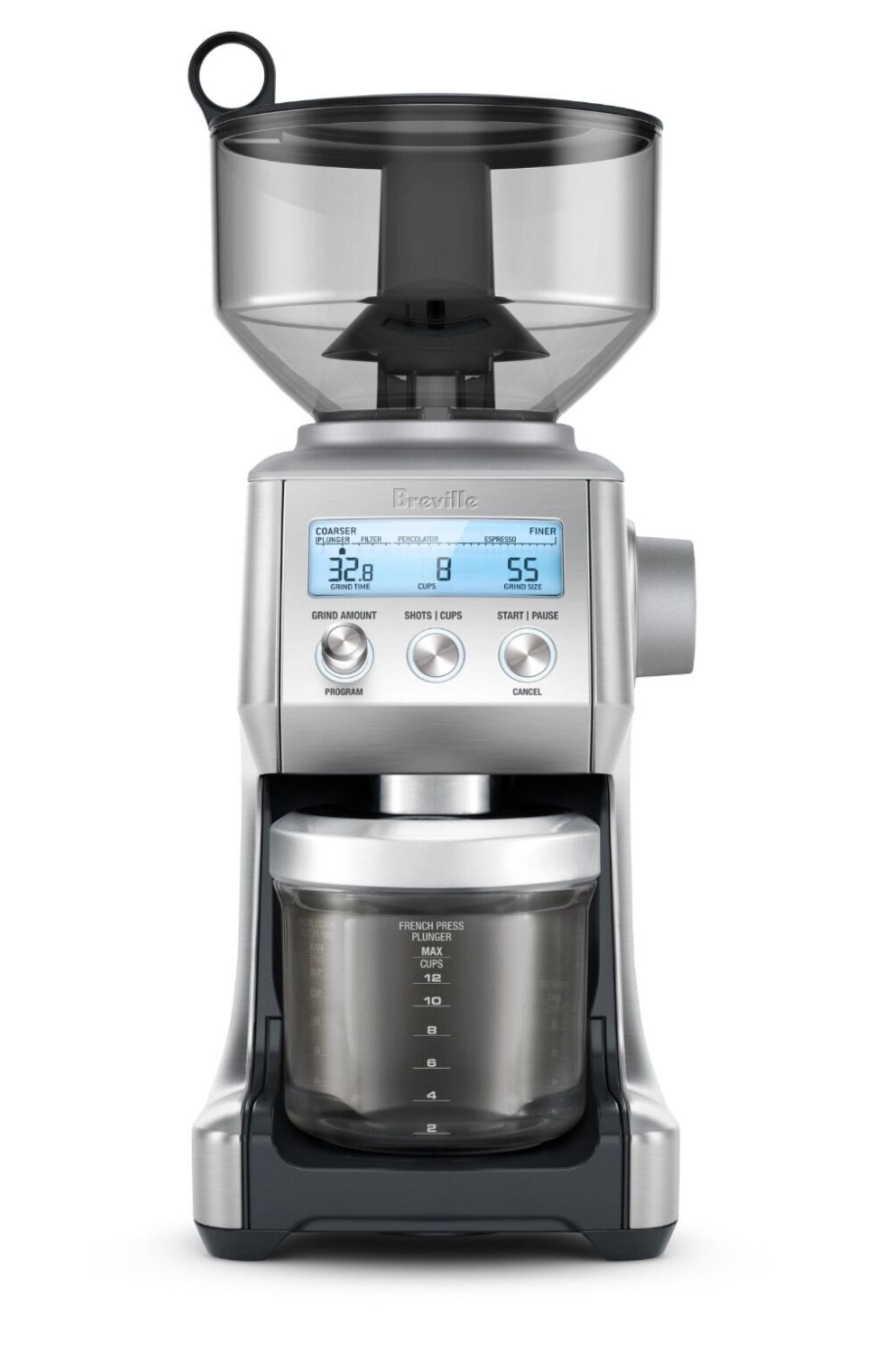 breville smart coffee grinder pro reviews