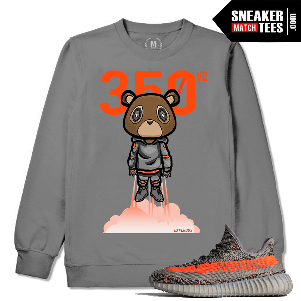 e4c45481ec819 Yeezy Boost 350 VA Beluga Matching Sweat Shirt Sneaker Match Tees