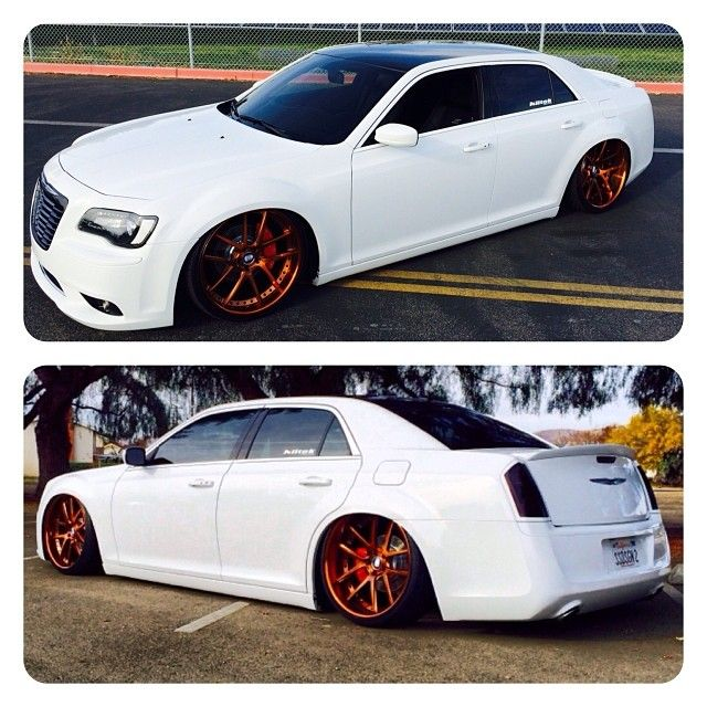 No Words Needed! Ss Motor Sports Chrysler 300 S Gold Nutek