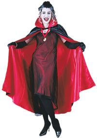 Click Image Above To Buy: 63 Satin Reversible Cape - Capes And Robes
