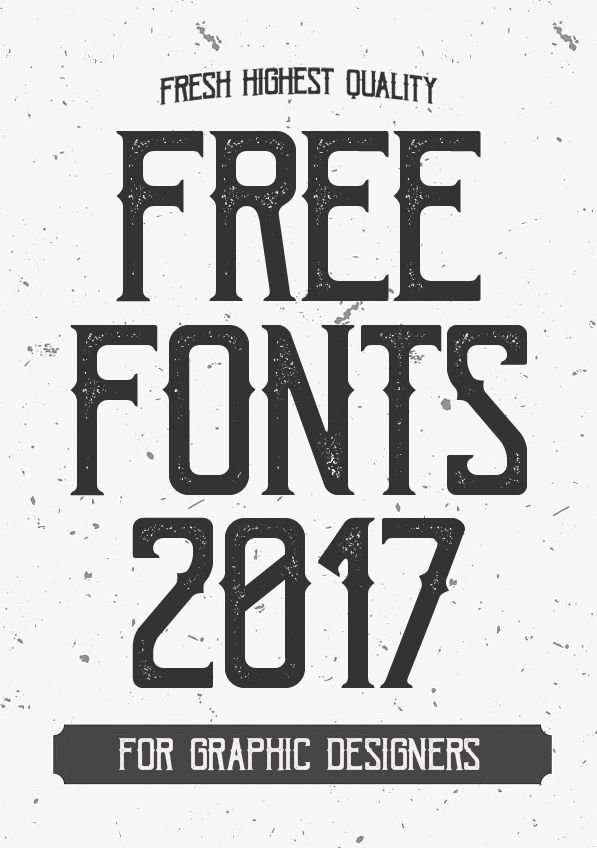 Fresh Free Fonts 2017 For Graphic Designers Creative - popular resume fonts