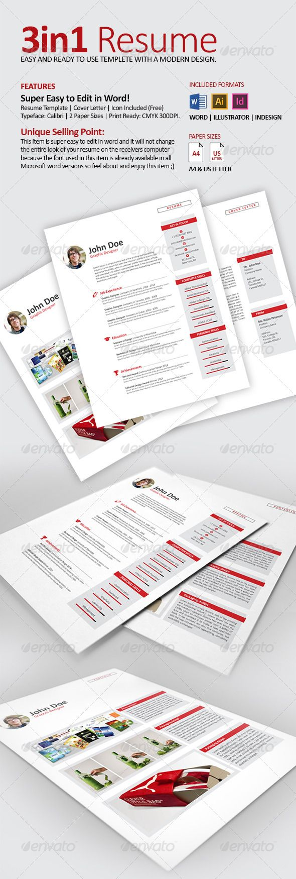 Resume CV with Word Files Resume cv Filing and Creative resume