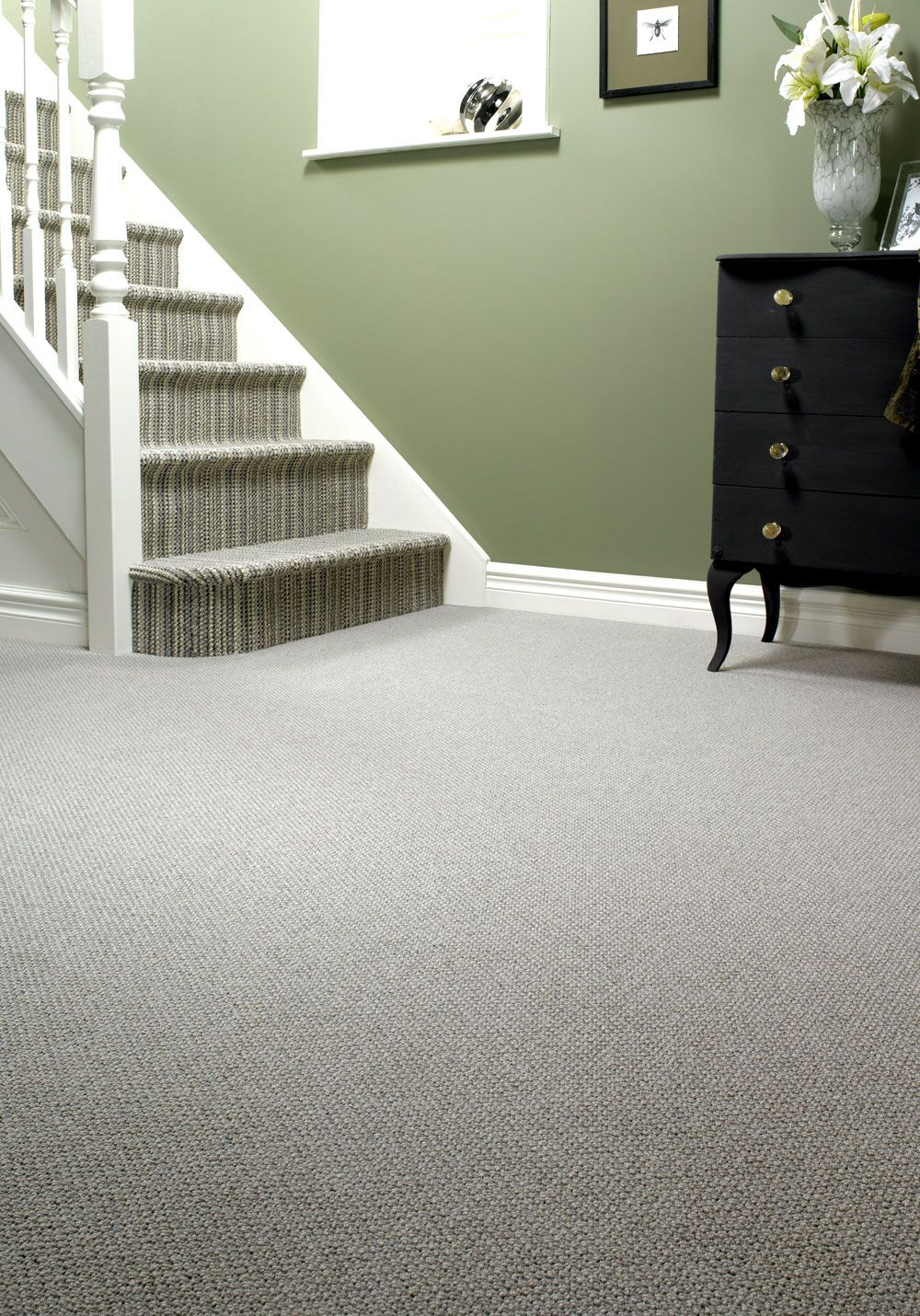 Best Edel Telenzo Wol Kwaliteit Barbican Carpet Staircase 400 x 300