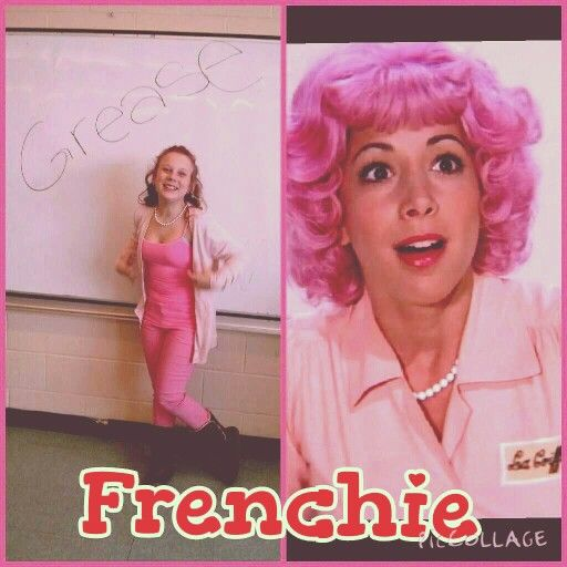 diy frenchie costume from grease me and my friends put