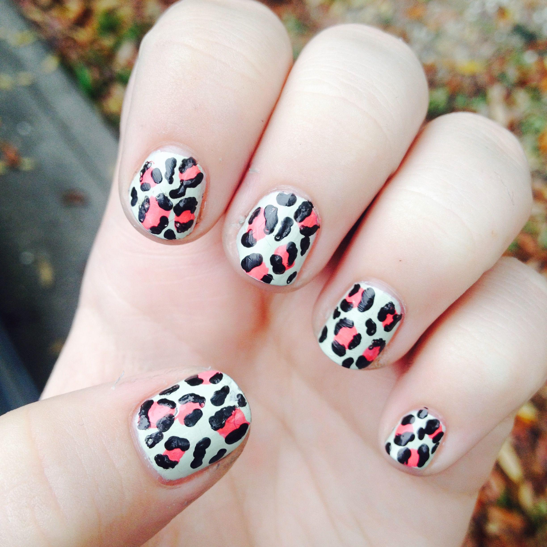(N)ail (A)rt (I)n (L)ife   Nails, Leopard print nails