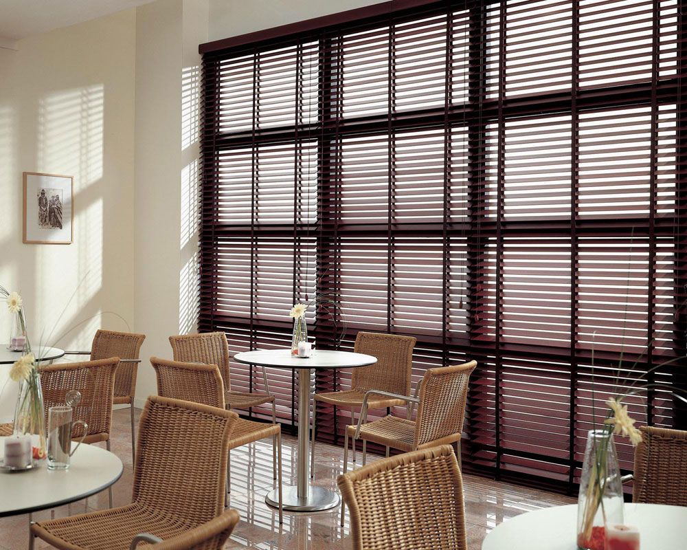 Good choice of warm wood shutters interior enchanting decoration