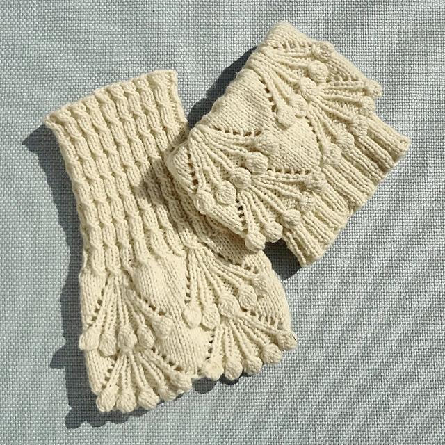 Eleanor boot toppers pattern by Alexandra Davidoff | Knit ...