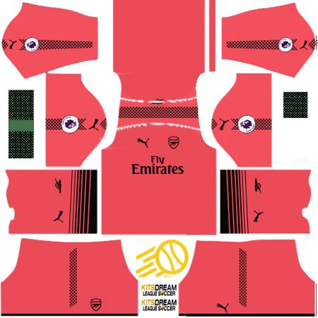 Pin en Kits Arsenal Dream League Soccer 2019