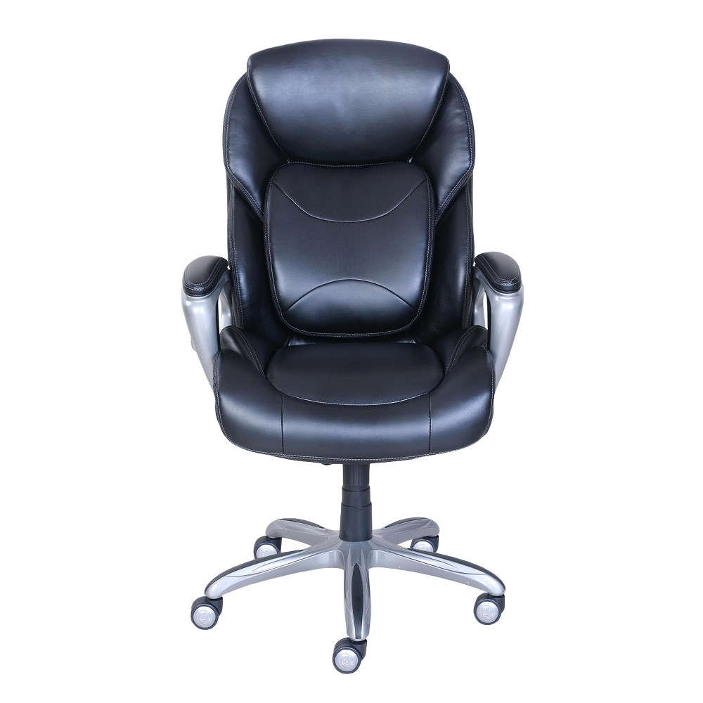 Excellent My Fit Executive Office Chair With 360 Motion Support Black Machost Co Dining Chair Design Ideas Machostcouk