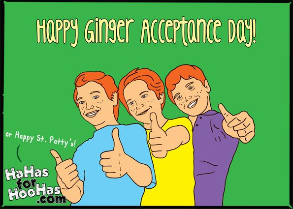 Ginger Acceptnce Day St Patricks Day Quotes St Patricks Day Meme St Patricks Day Pictures