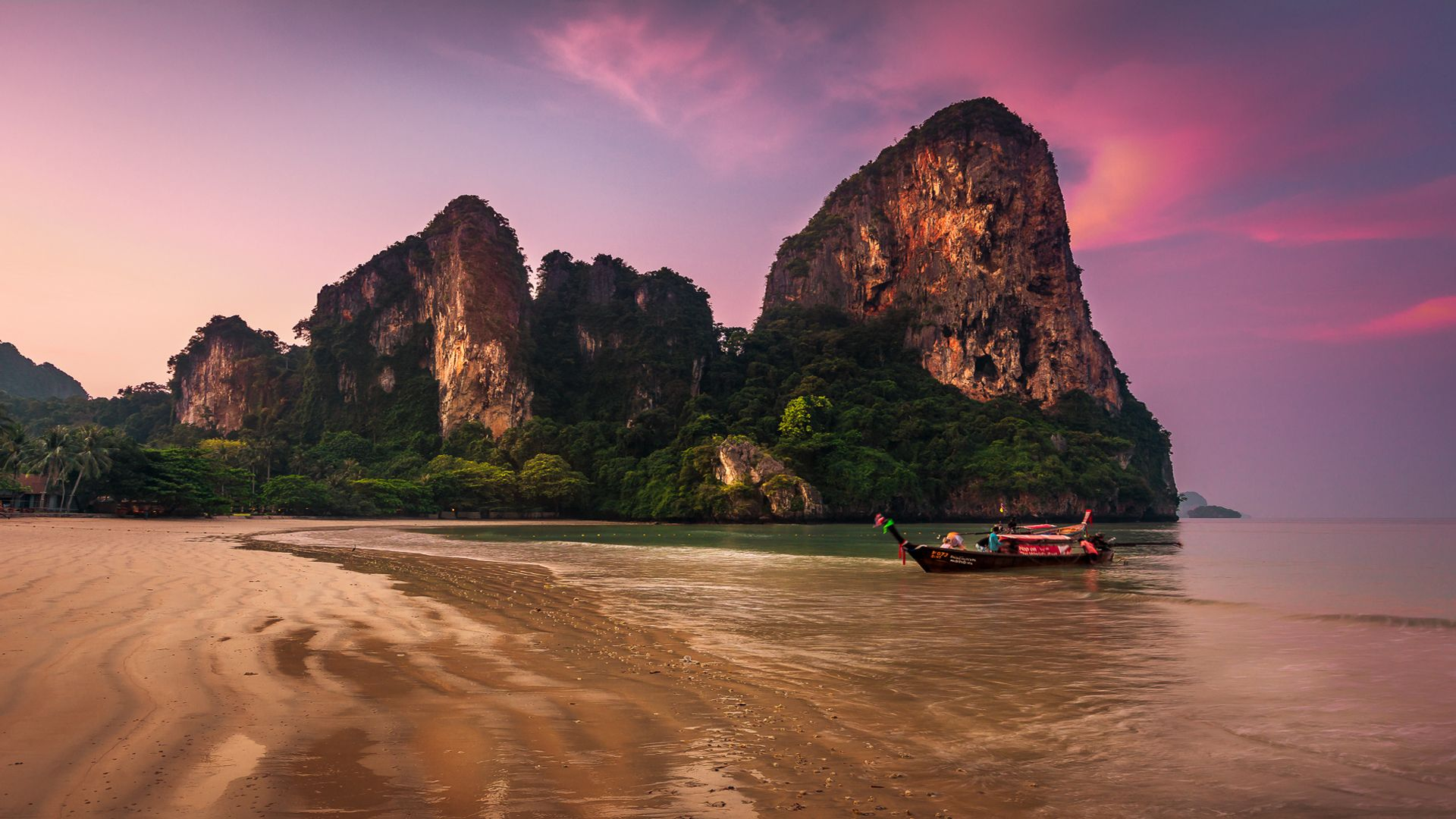 The Beach At Krabi Thailand 1920x1080 Need Iphone 6s Plus Wallpaper Background For Ipho Photography Wallpaper Nature Desktop Wallpaper Nature Pictures