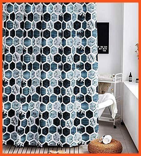 Curtain Set Gray Marble Fabric Shower Curtain Heavy Duty Bathroom CurtainbathroomShower Curtain Set Gray Marble Fabric Shower Curtain Heavy Duty Bathroom Curtainbathroom
