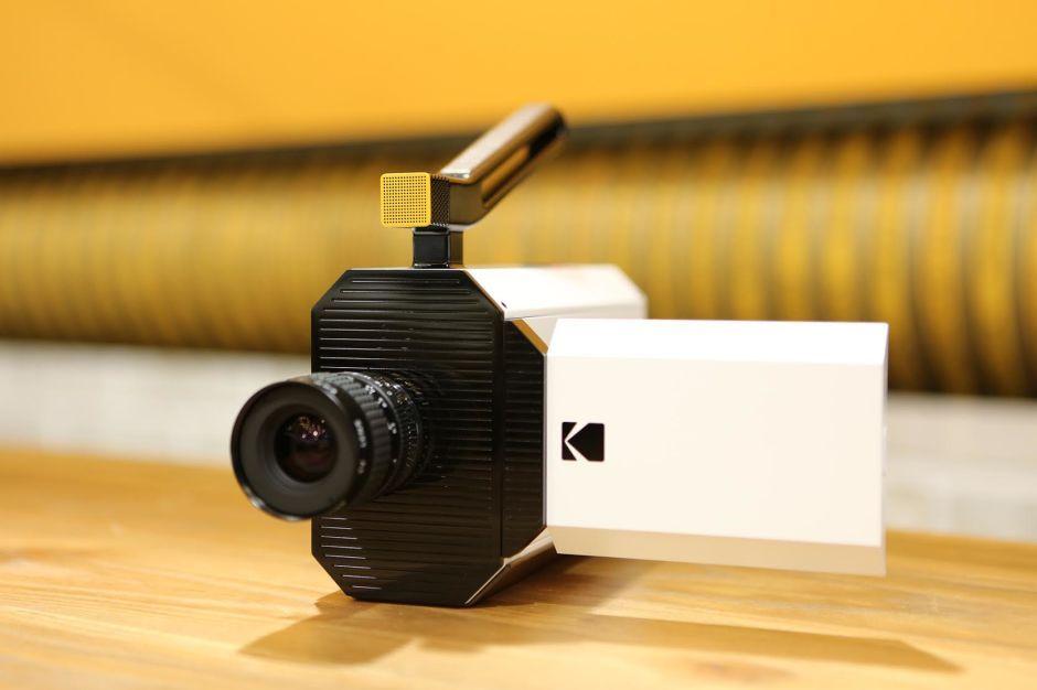 Kodak's modernized Super 8 camera