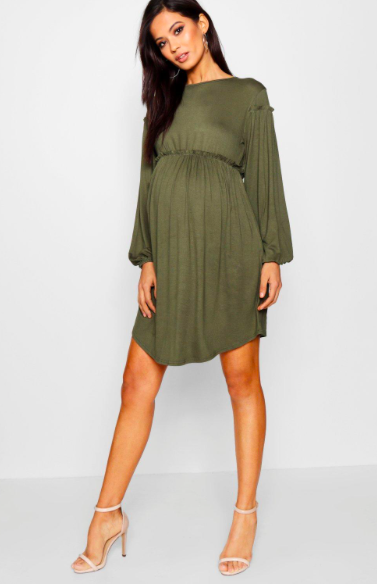 09277fc76c9 Style your bump in this cute and comfortable maternity dress! Flowy maternity  dresses are the