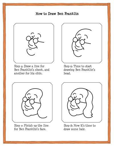 How to Draw Benjamin Franklin