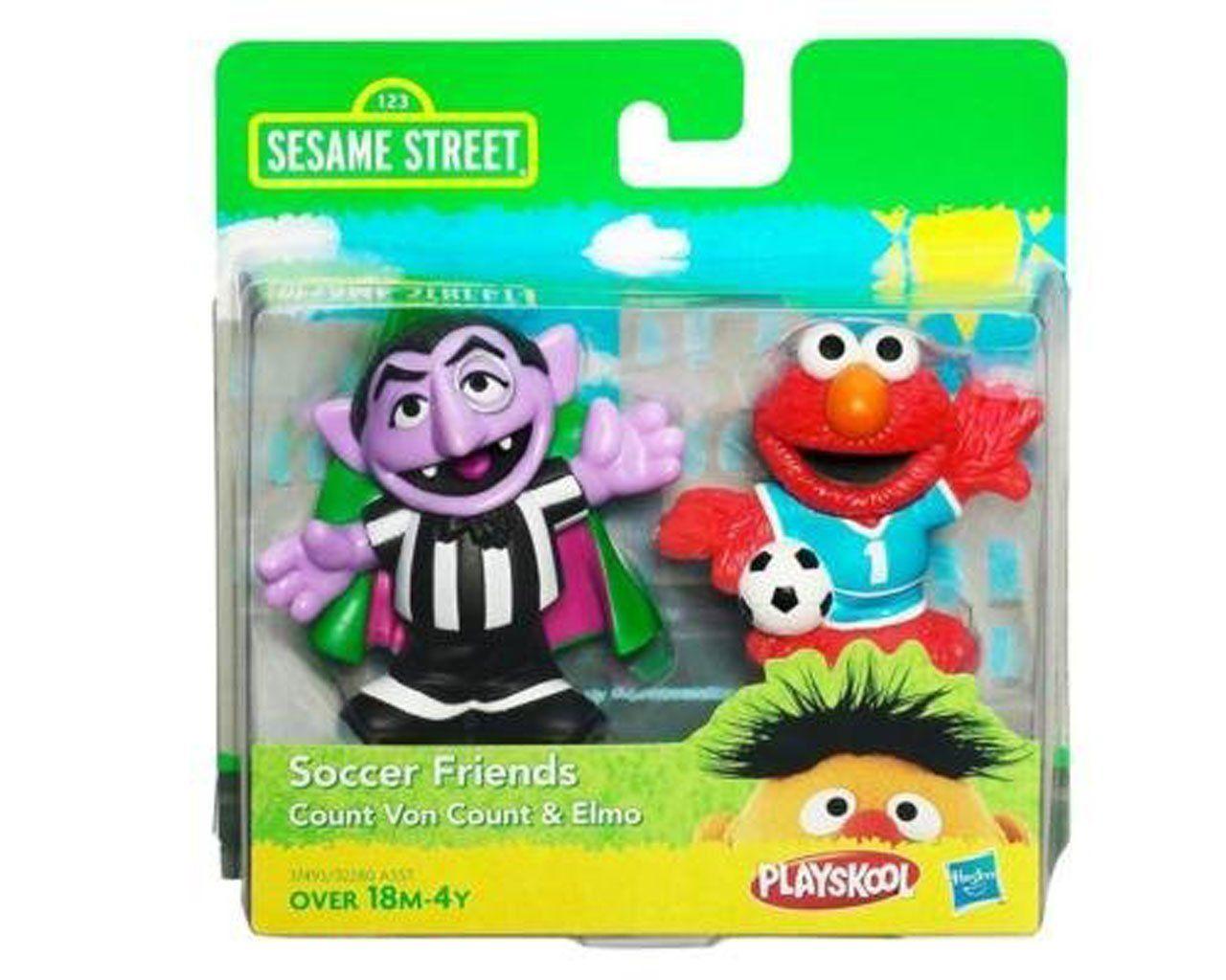 Sesame Street Playskool Soccer Friends Count Von Count