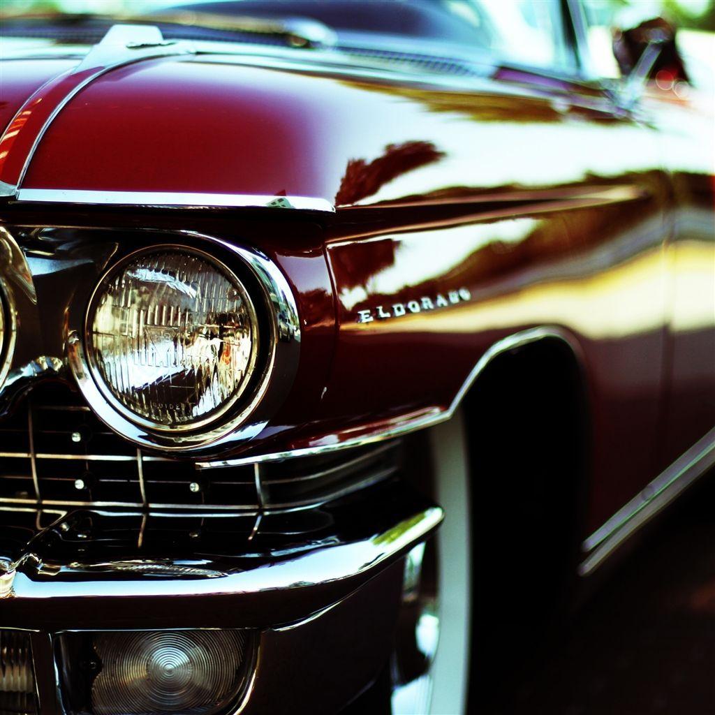 Cadillac Eldorado Retro #Retina #iPad #Air #wallpaper