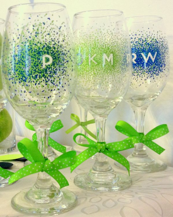 Navy Blue And Lime Green Bachelorette Party Diy Pinterest Diy