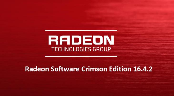 Amd Radeon Software Crimson Edition Rsce 16 4 2 Overview Amd Edition Crimson