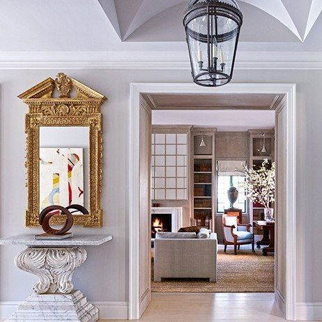Bruce Budd Redecorates Houston Mansion Antique With