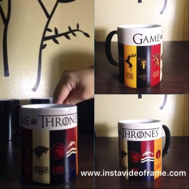 GoT Magic Mug 💕 #GOT #GameOfThrones #SevenKingdoms #WinterIsComing #FireAndBlood