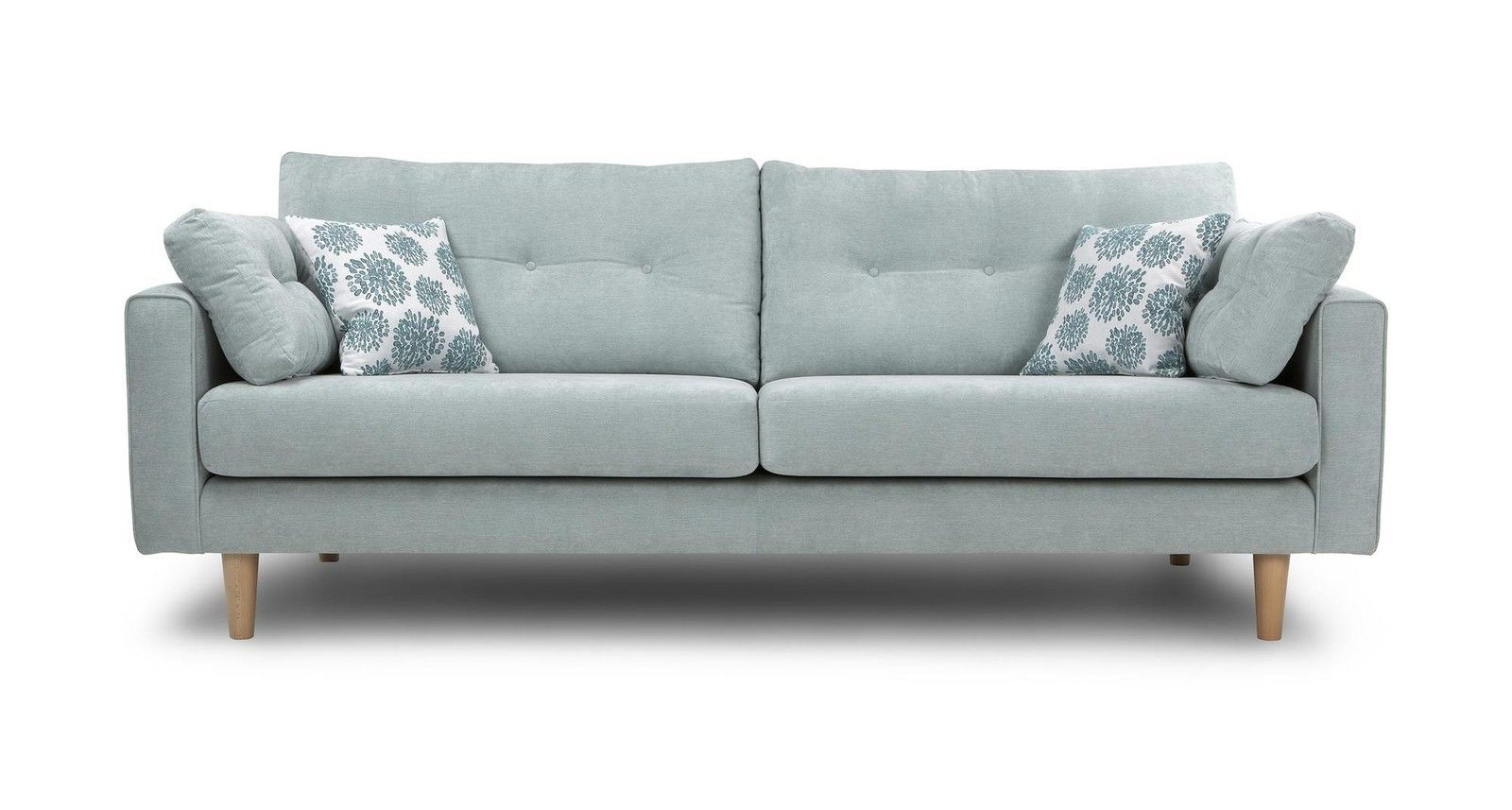 Dfs Poet Sky Fabric 4 Seater Sofa 57551 Sofa Fabric Sofa Seater Sofa