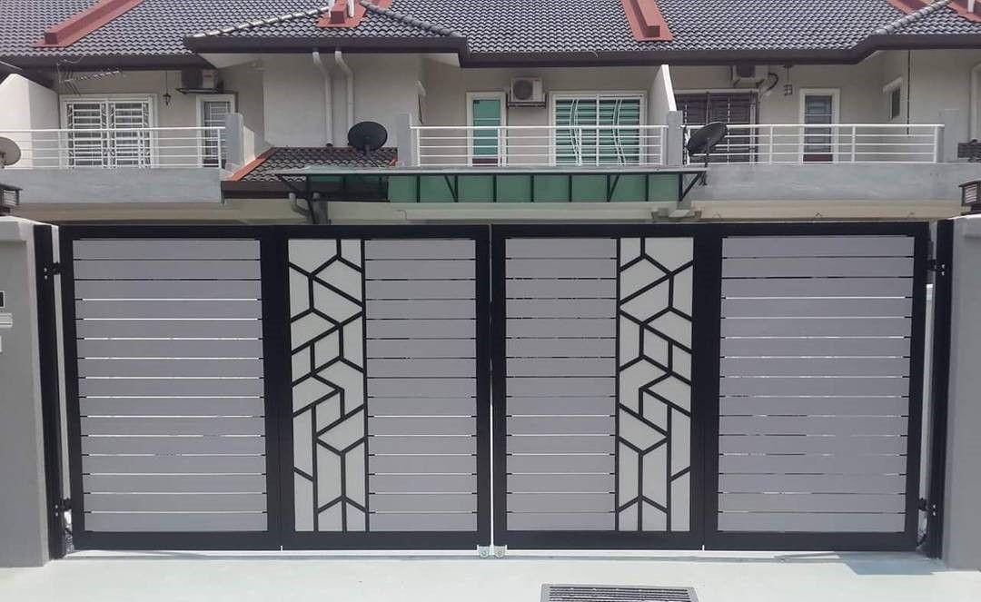 Pagar Rumah Minimalis Type 36 | Rumah Minimalis, Minimalis, Desain Rumah Kecil