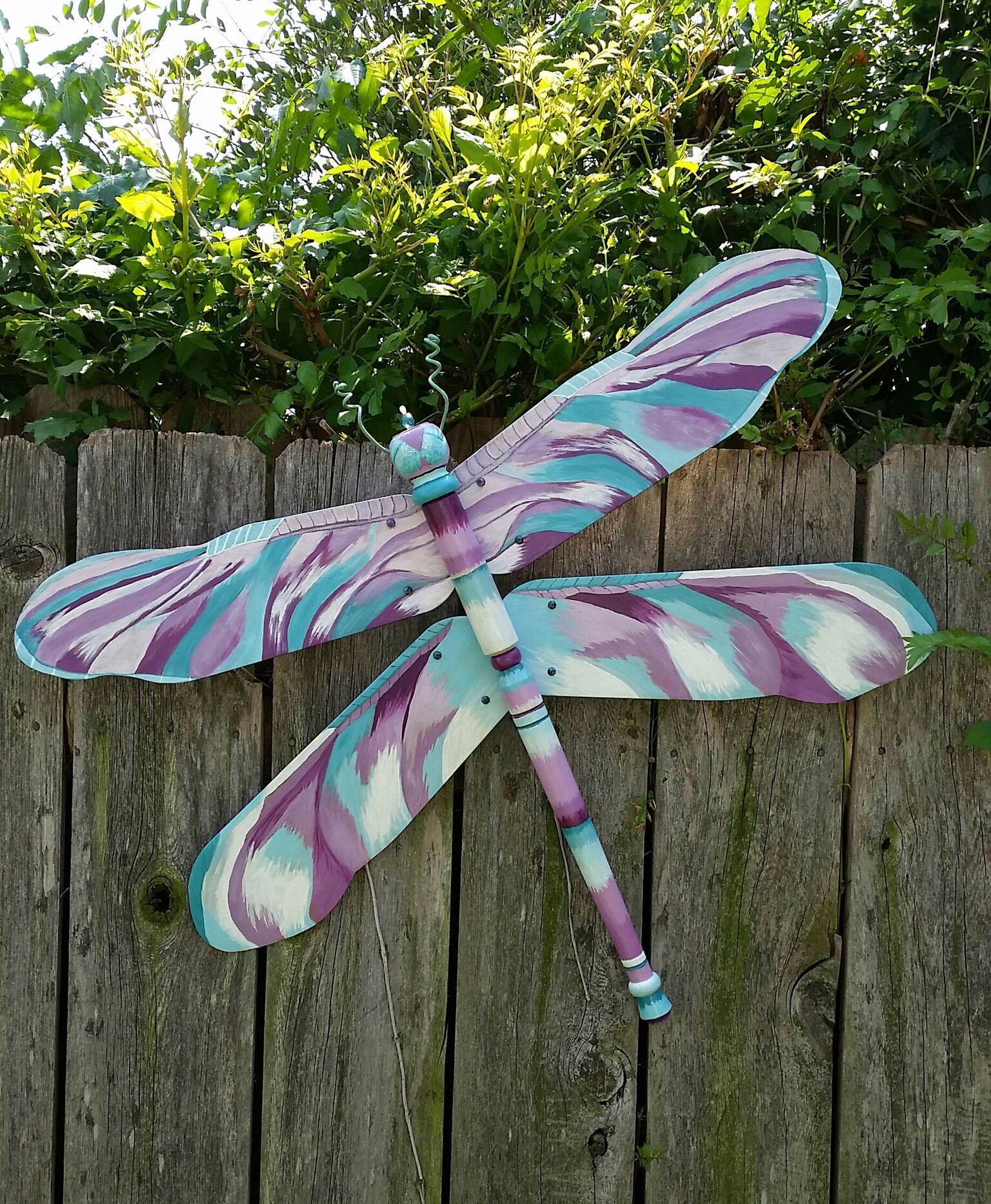 My First Fan Blade Dragonfly Sold On Etsy This Week Garden DecorDragonfly