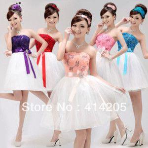 5c01fcc6b imagenes de vestidos de damas de 15 años blanco combinados ...