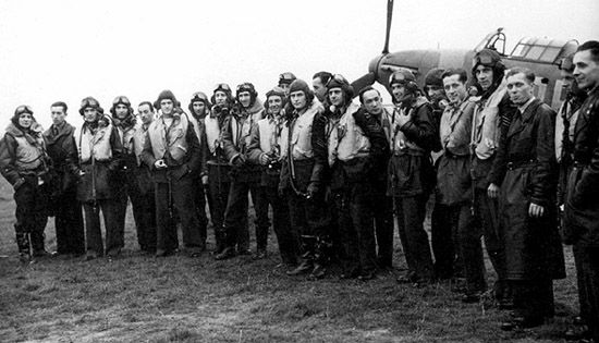 AUG 31 1940 303 Squadron's first combat patrol 303-Squadron-1940 ...