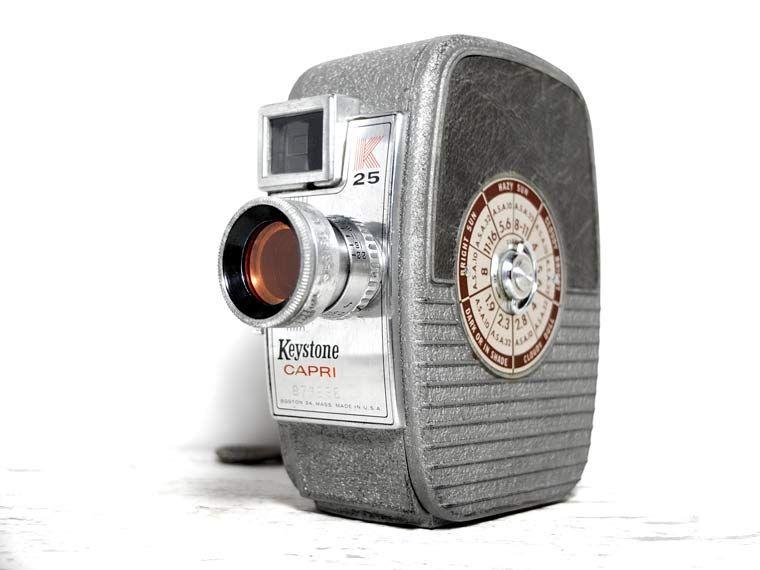 Keystone Capri K25 8mm Movie Camera | Vintage Cameras