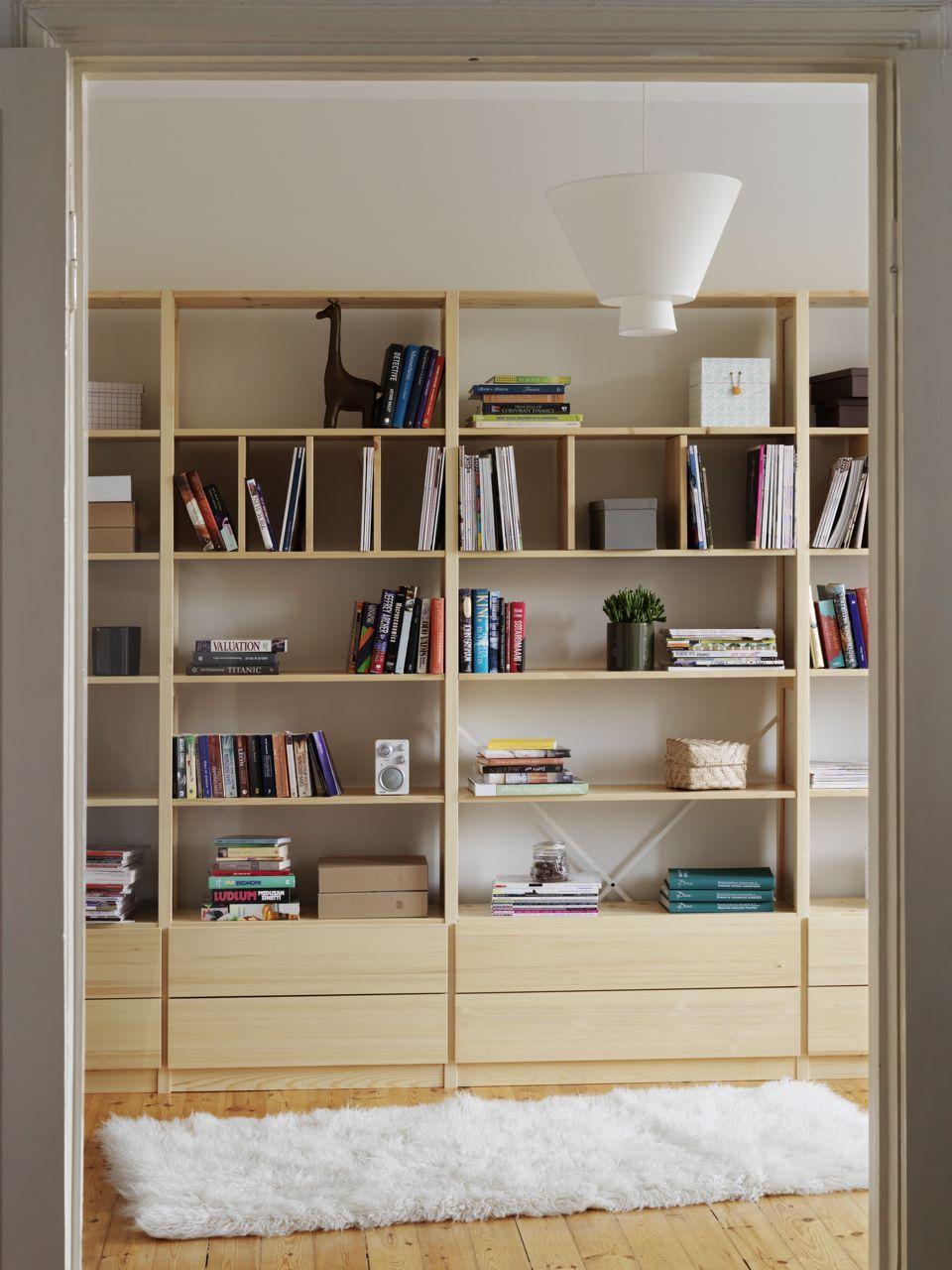 Lundia classic bookshelfs pinterest guardar juguetes - Estanterias guardar juguetes ...