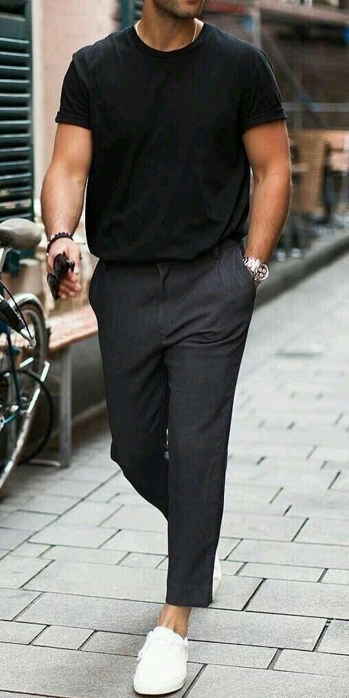 Pin by iMyself~ on Fashion   Minimalist fashion men, Mens