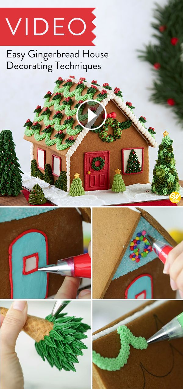 Easy Gingerbread House Decorating Techniques